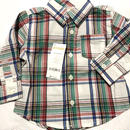 【gymboree】 チェックシャツ