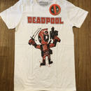 Dead Pool  Cartoon Bullte white