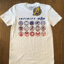 AVENGERS INFINITY WAR  ICON white
