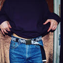 SSD all bones logo belt/black