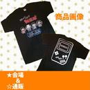 ドット絵Tシャツ(黒)