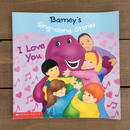 BARNEY I LOVE YOU Picture Book/バーニー アイラブユー 絵本/170103-6