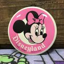 Disney Disneyland Minnie Mouse Button/ディズニー ディズニーランド ミニー・マウス 缶バッジ/170305-1