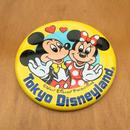 Disney Tokyo Disneyland Button/ディズニー 東京ディズニーランド 缶バッジ/171008-4