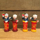 THE MUPPETS Statler and Waldorf Chess Piece/ ザ・マペッツ スタトラー&ウォルドーフ チェスの駒 フィギュア/180129-16