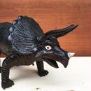DINOSAUR Triceratops Rubber Toy/恐竜 トリケラトプス ラバートイ/180210-4
