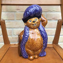 COUNTRY BEAR Teddi Berra Ceramic Figure/カントリーベア テディ・ベラ セラミックフィギュア/170813-16