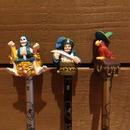 Pirates of the Caribbean Figure Pencil Set/カリブの海賊 フィギュア鉛筆セット/171213-10