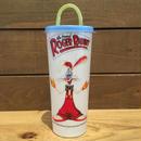 Who Framed ROGER RABBIT  Plastic Cup/ロジャーラビット プラスチックカップ (フタダメージ)/180724-2