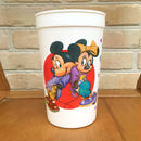 Disney Mickey&Minnie Plastic Cup/ディズニー ミッキー&ミニー プラスチックカップ/170724-3