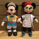 Disney Mickey & Minnie Doll Set/ディズニー ミッキー & ミニー ドールセット/180728-8