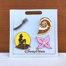 THE LITTLE MERMAID Little Mermaid Pin 4pcs Set/リトルマーメイド ピンズセット/180114-1