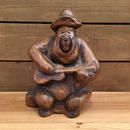 COUNTRY BEAR JAMBOREE Big Al Ceramic Bank/カントリーベアジャンボリー  ビッグ・アル セラミック貯金箱/181126-6