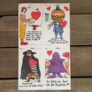 Mcdonald's Valentine Card 1976/マクドナルド バレンタインカード 1976/170123-16