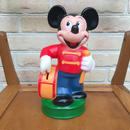 Disney Mickey Mouse Plastic Bank/ディズニー ミッキー・マウス 貯金箱/170811-3