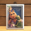THE MUPPETS Kermit & Miss Piggy Wall Hanging/ザ・マペッツ カーミット&ミスピギー 壁掛け/180718-4
