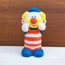 Clown Squeaky Rubber Doll/ピエロ スクアーキー ラバードール/180125-1