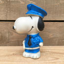 PEANUTS Snoopy Cop Squeaky Rubber Doll/ピーナッツ 警官スヌーピー スクアーキ―ラバードール/170512-6