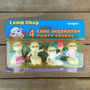 Lamb Chop PVC Figure Set/ラムチョップ PVCフィギュアセット/161128-10