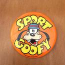 Disney Sport Goofy Button/ディズニー スポーツグーフィー 缶バッジ/170813-5