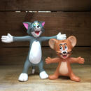 TOM&JERRY Bendable Figure set/トム&ジェリー ベンダブルフィギュアセット/180918-5