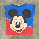Disney Mickey Mouse No Sleeve Shirts/ディズニー ミッキー・マウス ノースリーブシャツ/180526-1