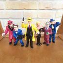 DiCK TRACY Dick Tracy PVC Figure Set/ディック・トレイシー PVCフィギュアセット/171117-2