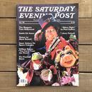 THE MUPPETS The Saturday Evening Post Dec'80/ ザ・マペッツ サタデーイブニングポスト 80年12月号 洋書/170425-3