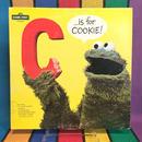 """SESAME STREET """"C""""Is For Cookie Record / セサミストリート クッキーモンスター """"C""""イズフォークッキー レコード/160526-1"""