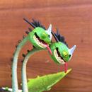 HOW TO TRAIN YOUR DRAGON Zippleback Belch & Barf Figure/ヒックとドラゴン ダブルジップのベルチ & バーフ フィギュア/180205-2