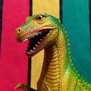 RUBBER DINO T-rex/ラバー恐竜 ティラノサウルス フィギュア/160112-3