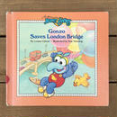 THE MUPPETS Gonzo Saves London Bridge/ ザ・マペッツ ベイビー・ゴンゾ 絵本/170524-9