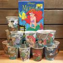 THE LITTLE MERMAID Kitchin Cup Set/リトルマーメイド キッチンカップ 全種セット/170203-1