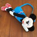 Disney Mickey Mouse Plush Bag/ディズニー ミッキーマウス ぬいぐるみバッグ/180114-14
