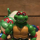 TURTLES Toon Cycle with Toon Raph Figure/タートルズ トゥーンサイクル&トゥーンラファエロ フィギュア/181031-11