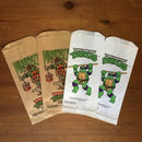 TURTLES Lunch Bags 4pcs Set/タートルズ ランチバッグ4枚セット/171214-4