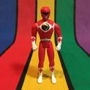 POWER RANGERS Red Ranger/パワーレンジャー レッドレンジャー フィギュア/160123-2