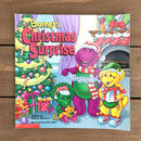 BARNEY Christmas Surprise Picture Book/バーニー クリスマスサプライズ 絵本/170103-5
