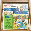 Disney Children's Favorites Vol.2 Record/ディズニー チルドレンズフェイバリット Vol.2 レコード/171110-5