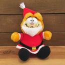 GARFIELD Christmas Garfield Plush Doll/ガーフィールド クリスマス・ガーフィールド ぬいぐるみ/181209-8