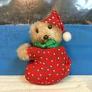 Christmas Bear Clip Doll/クリスマス・ベア クリップドール/171105-1