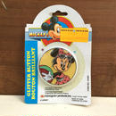 Disney Minnie Mouse Glitter Button/ディズニー ミニー・マウス グリッターバッジ/171215-10