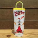 Who Framed ROGER RABBIT  Plastic Cup/ロジャーラビット プラスチックカップ (フタダメージ)/180724-3
