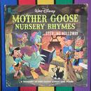 Disney Mother Goose Nurdery Rhymes Record/ ディズニー マザーグース童話集 レコード/160722-11
