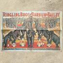 Ringling Bros. and Barnum & Bailey Circus Poster/バーナムのサーカス ポスター/180720-8