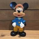 Disney Mickey Mouse Vinyl Figure/ディズニー ミッキー・マウス ソフビ/180926-8