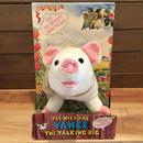 THE PEE-WEE HERMAN Vance The Talking Pig Plush Doll/ピーウィー・ハーマン ヴァンス・ザ・トーキングピッグ ぬいぐるみ/190221-8