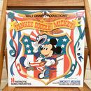 Disney Yankee Doodle Mickey Record/ディズニー ヤンキードゥードゥルミッキー レコード/171110-6