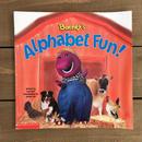 BARNEY Alphabet Fun Picture Book/バーニー アルファベットファン 絵本/170103-7