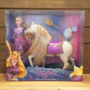 Tangled Rapunzel & Maximus Doll Set/塔の上のラプンツェル ラプンツェル & マキシマス ドールセット/181129-6